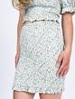 Smocked Floral Tess Skirt