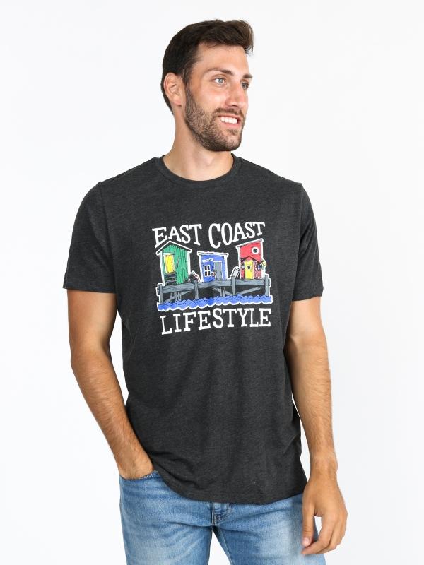 East Coast Lifestyle NFLD Houses Tee