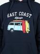 East Coast Lifestyle Surf Van Hoodie
