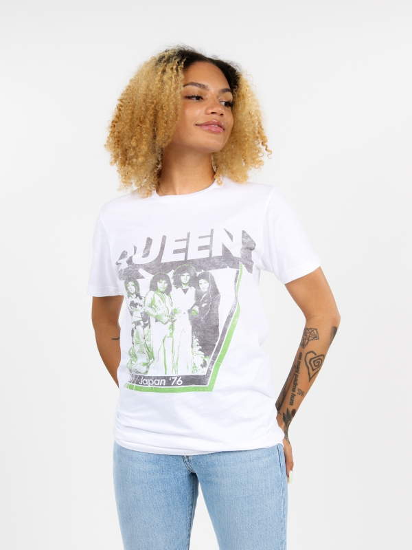 Queen Japan 76' Band Tee